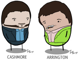 Pete Cashmore Michael Arrington