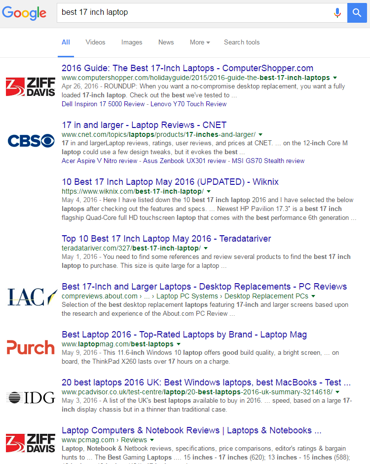 How 16 Companies are Dominating the World s Google Search Results 87f8b033d